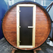 Баня-Бочка-2м-дверь-стекло-02