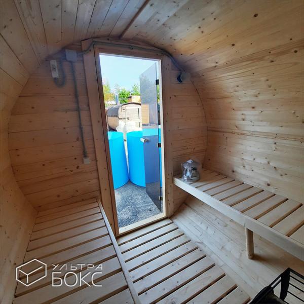 Баня-Бочка-2м-дверь-стекло-10