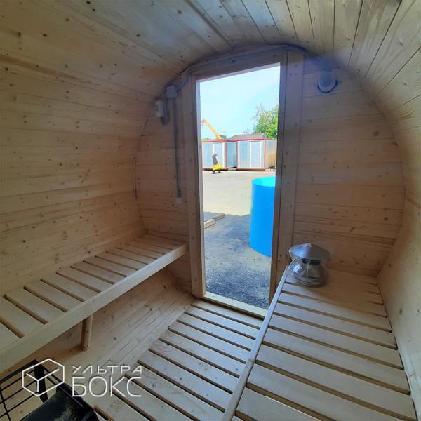 Баня-Бочка-2м-дверь-стекло-11