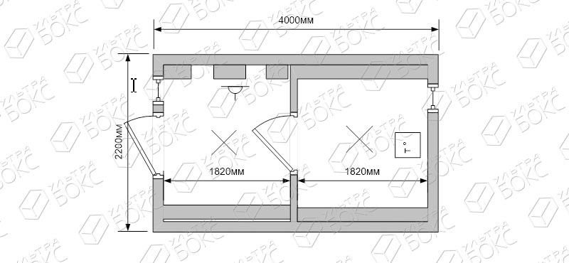 Баня-Бочка-4-с-навесом-схема