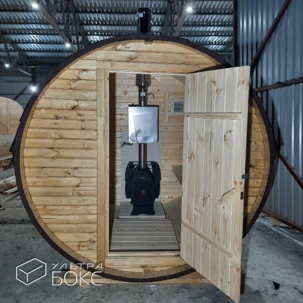 Баня-бочка-2м-Св-коричневая-01