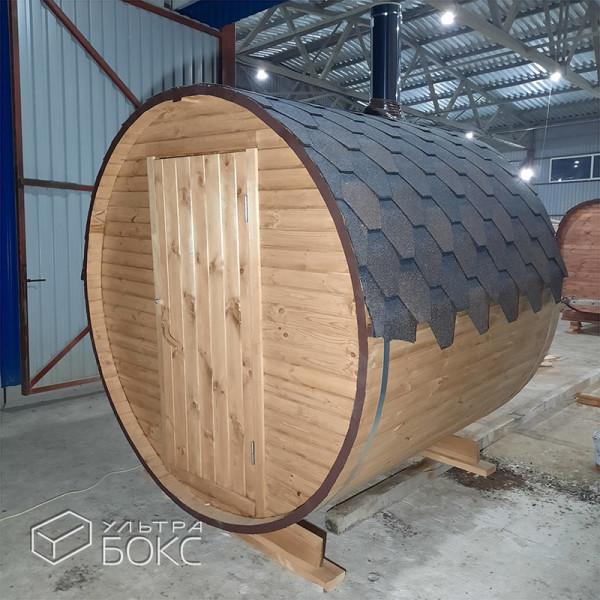 Баня-бочка-2м-Св-коричневая-02