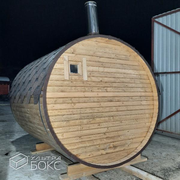 Баня-бочка-2м-Св-коричневая-03