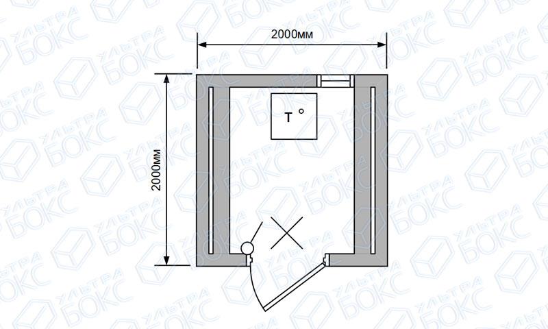 Баня-бочка-2м-Стандарт-Светло-коричневая-схема