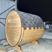 Баня-бочка-2м-Стандарт-Светло-коричневая-05