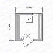 Баня-бочка-2м-Стандарт-Светло-коричневая