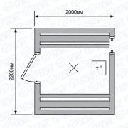 Баня-бочка-2м-дверь-со-стеклом