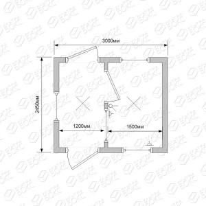 Блок-контейнер-БКП-01-Проходная-схема-1