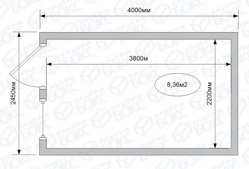 Блок-контейнер-БК-01-4м-схема