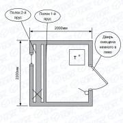 Квадро-баня-2м-на-сваях-с-обвязкой-и-ступенями