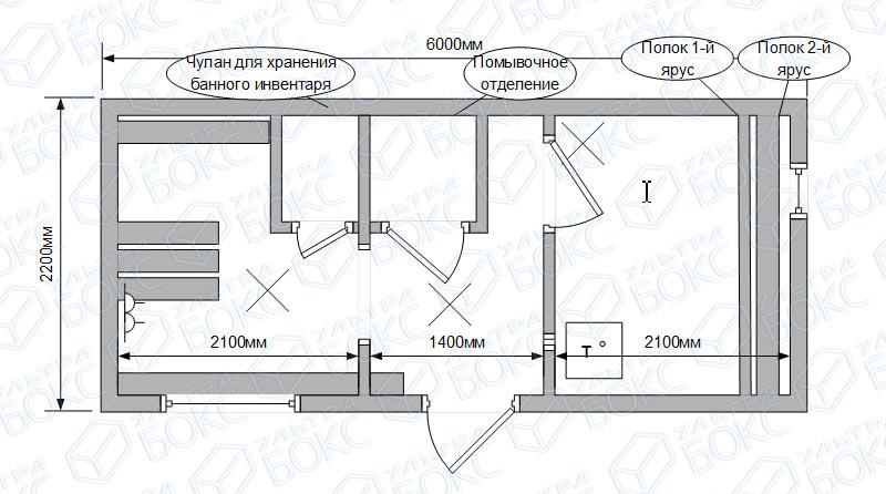 Квадро-баня-6м-с-чуланом-схема
