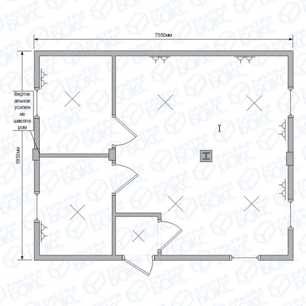 Модульное-здание-735х585х245см