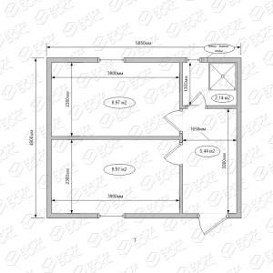 Модуль-Имитация-бруса-схема-кв
