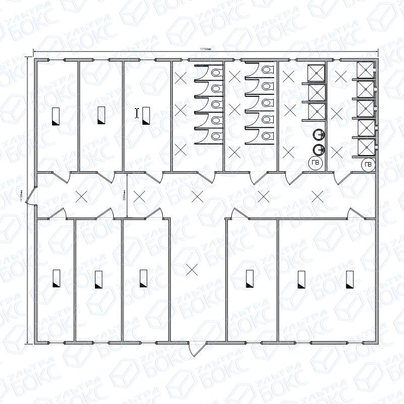 Модуль-2-эт-28-контейнеров-1-этаж