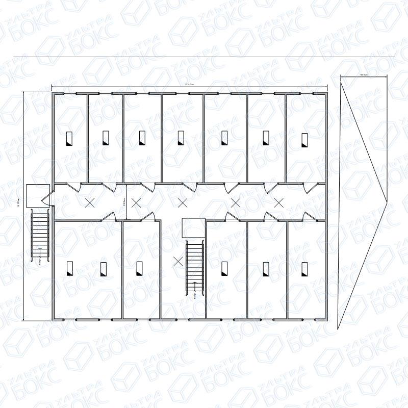 Модуль-2-эт-28-контейнеров-2-этаж