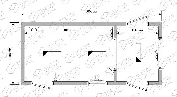 Проходная-БК-01-6м-схема