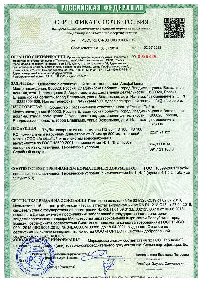 Сертификат-соответствия-вода