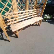 Скамейка-деревянная-со-спинкой-1,5м
