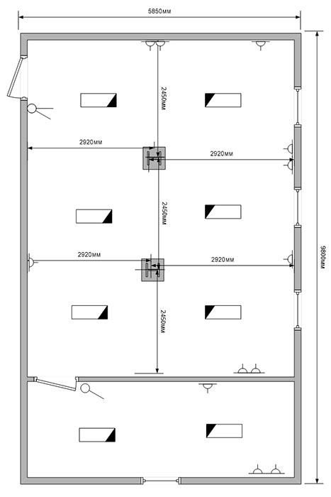 Первый этаж модульного здания